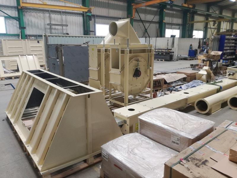 MEM industrie transfert et process industriel de produit en vrac